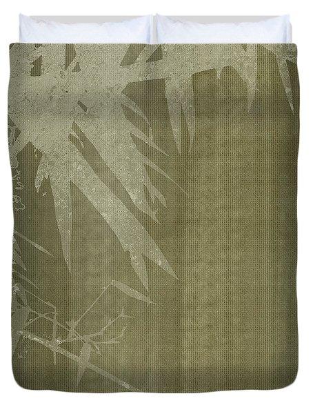 Watercolor Bamboo 02 Duvet Cover
