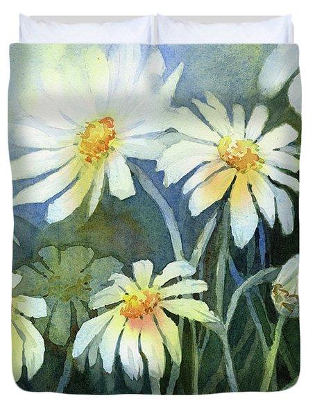 Daisies Flowers  Duvet Cover