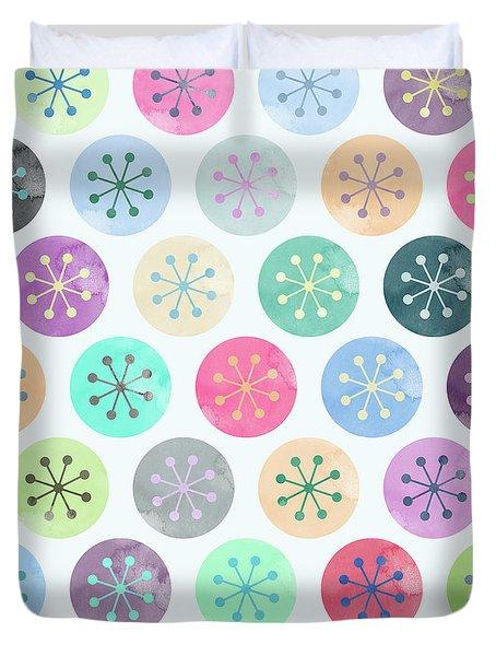 Watercolor Lovely Pattern Duvet Cover