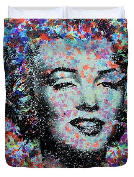 Watercolor Marilyn Duvet Cover