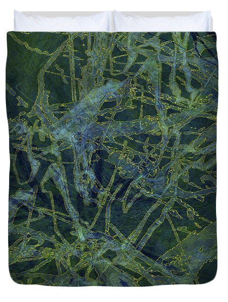 Edition 1 Watercolor Moss Duvet Cover