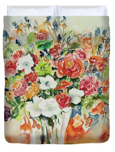 Watercolor Series 23 Duvet Cover
