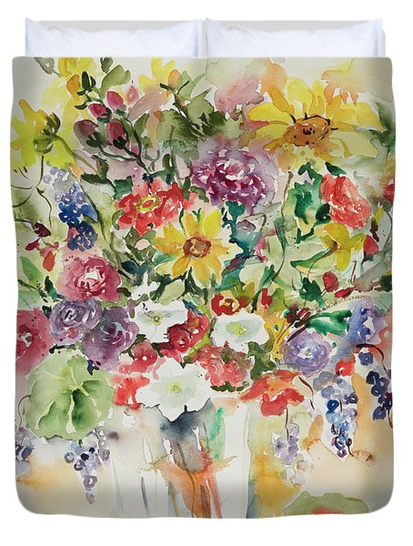 Watercolor Series 33 Duvet Cover