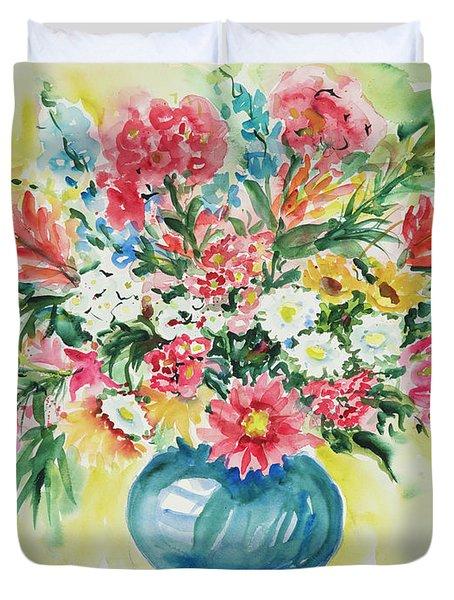 Watercolor Series 58 Duvet Cover