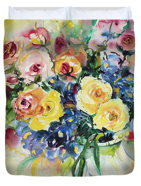 Watercolor Series 62 Duvet Cover