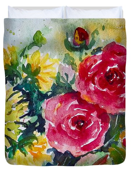 Watercolor Series No. 212 Duvet Cover