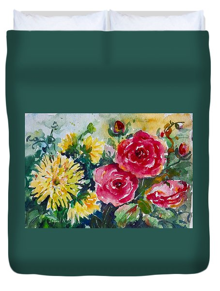 Watercolor Series No. 212 Duvet Cover