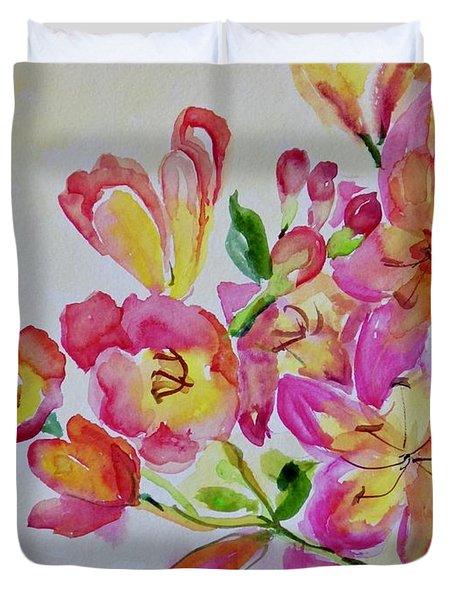 Watercolor Series No. 225 Duvet Cover