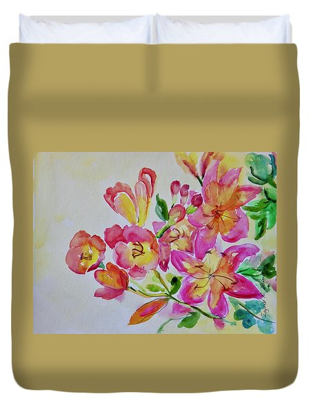 Watercolor Series No. 225 Duvet Cover