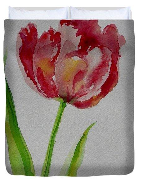 Watercolor Series No.  228 Duvet Cover
