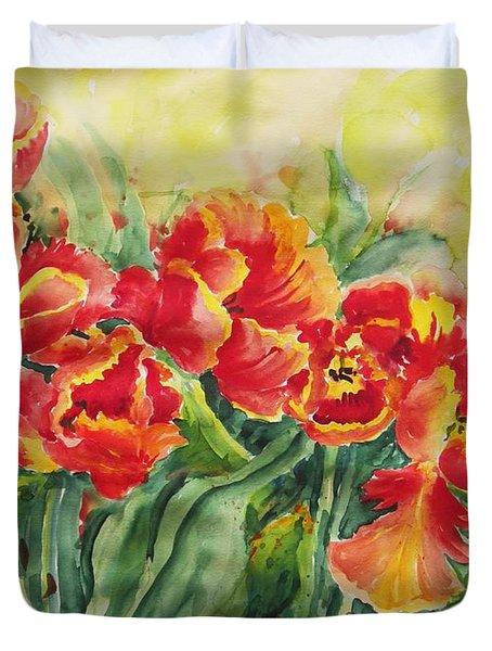 Watercolor Series No. 241 Duvet Cover