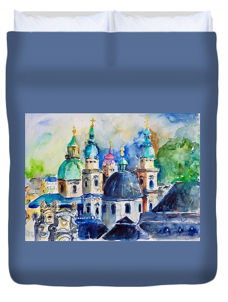 Watercolor Series No. 247 Duvet Cover