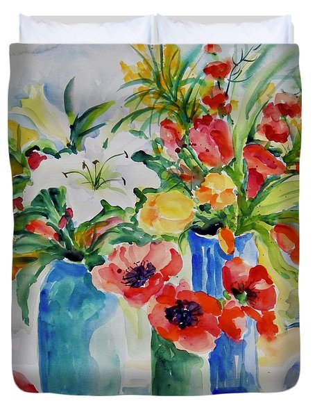 Watercolor Series No. 256 Duvet Cover