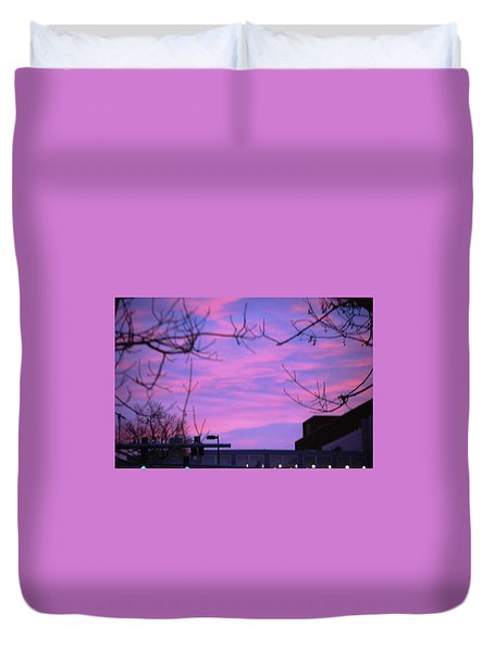 Watercolor Sky Duvet Cover