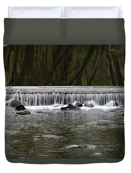 Waterfall 001 Duvet Cover