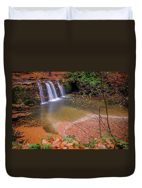 Waterfall-1 Duvet Cover