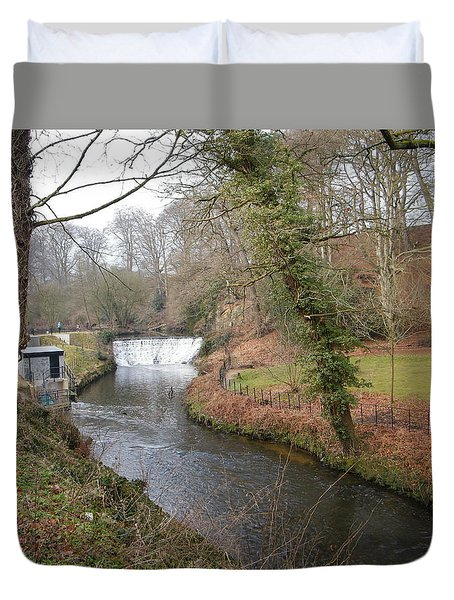Waterfall 2 Duvet Cover