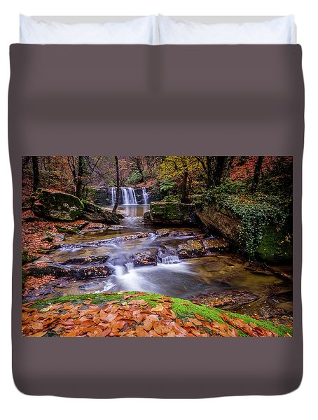 Waterfall-2 Duvet Cover