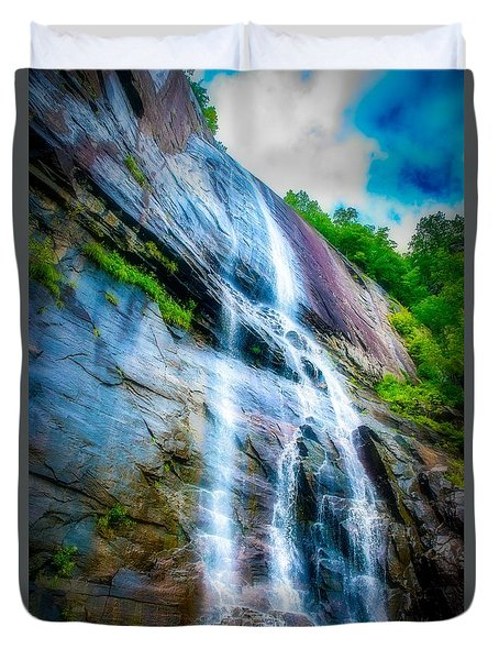 Chimney Rock Duvet Cover