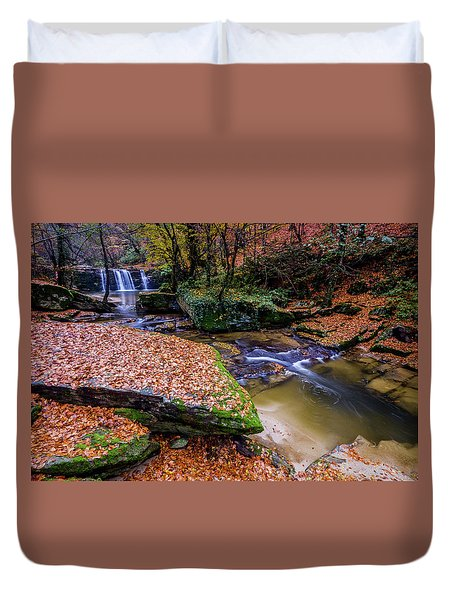 Waterfall-3 Duvet Cover