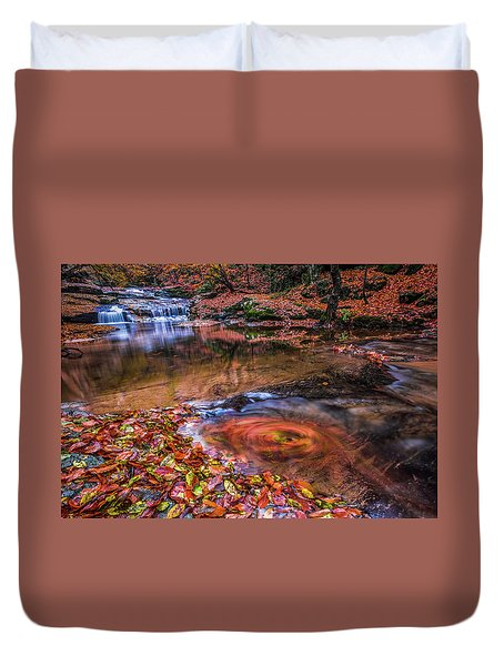 Waterfall-4 Duvet Cover