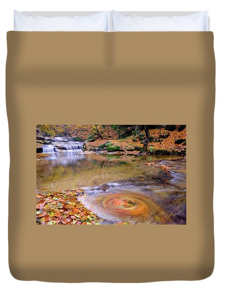 Waterfall-5 Duvet Cover