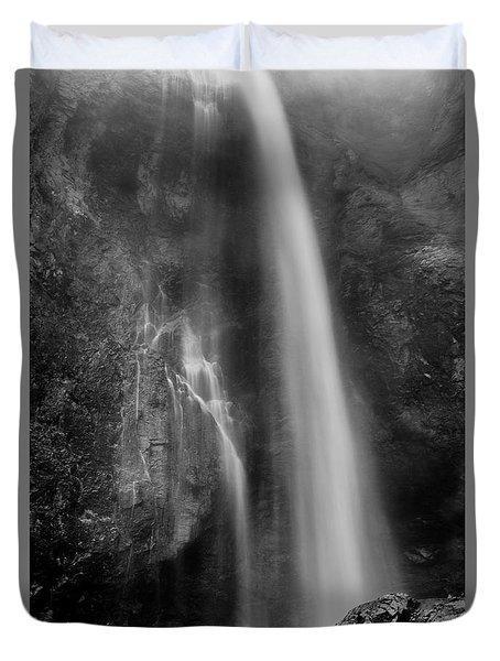 Waterfall 5830 B/w Duvet Cover