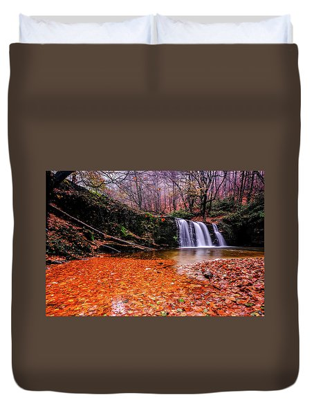 Waterfall-7 Duvet Cover