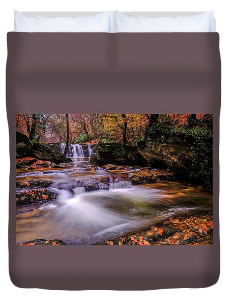 Waterfall-9 Duvet Cover