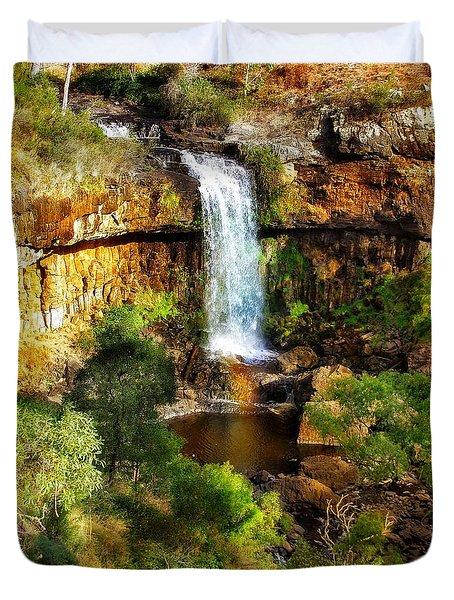 Waterfall Beauty Duvet Cover by Blair Stuart