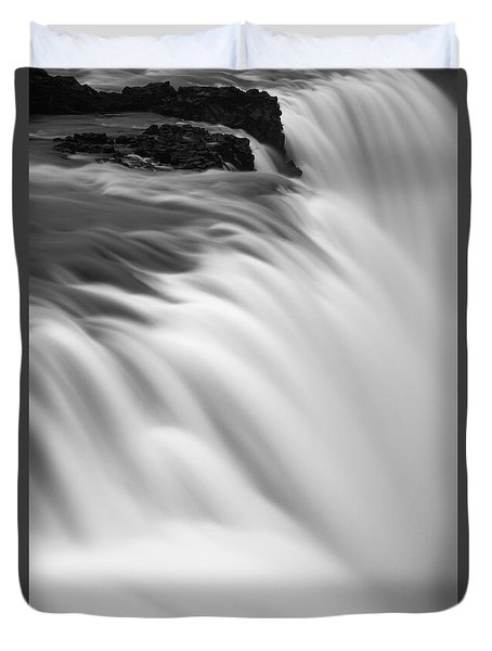 Waterfall Duvet Cover by Chris McKenna