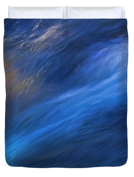 Waterfall Detail Duvet Cover