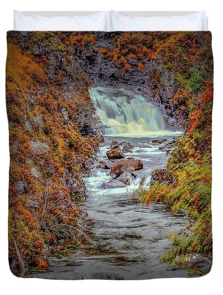 Waterfall #g8 Duvet Cover