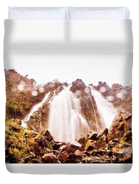 Waterfall Scenics  Duvet Cover
