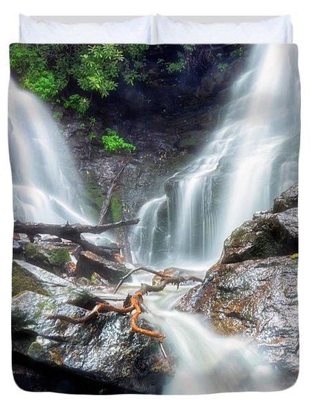 Waterfall Silence Duvet Cover