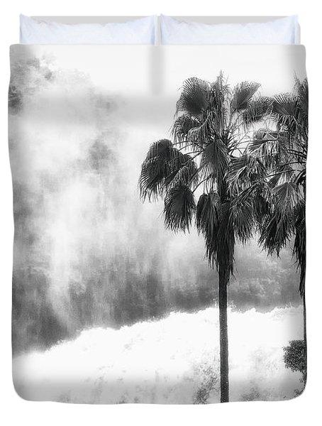 Waterfall Sounds Duvet Cover