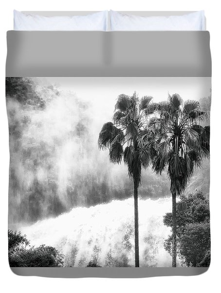 Waterfall Sounds Duvet Cover