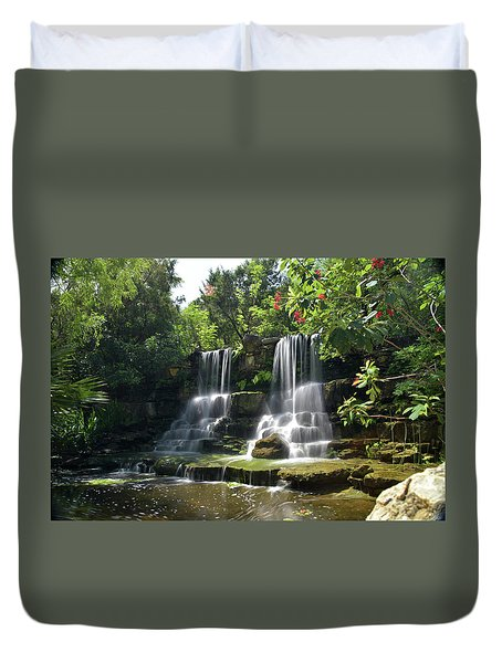 Waterfalls Duvet Cover