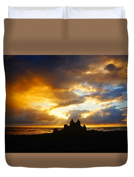 Waterfront Castle Of Your Own Duvet Cover