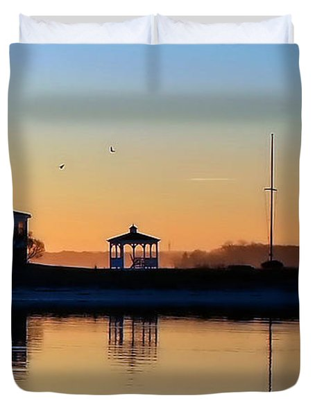 Waterfront Living Duvet Cover