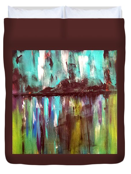 Waterfront Reflections Duvet Cover