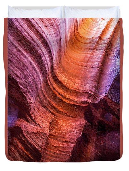 Waterholes Canyon Ribbon Candy Duvet Cover