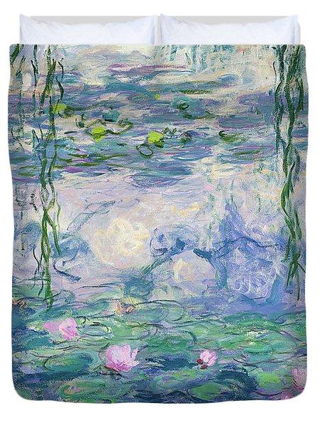Waterlilies 1916-1919 Duvet Cover