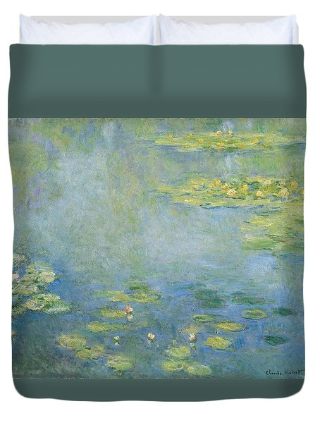 Waterlilies C.1906 Duvet Cover