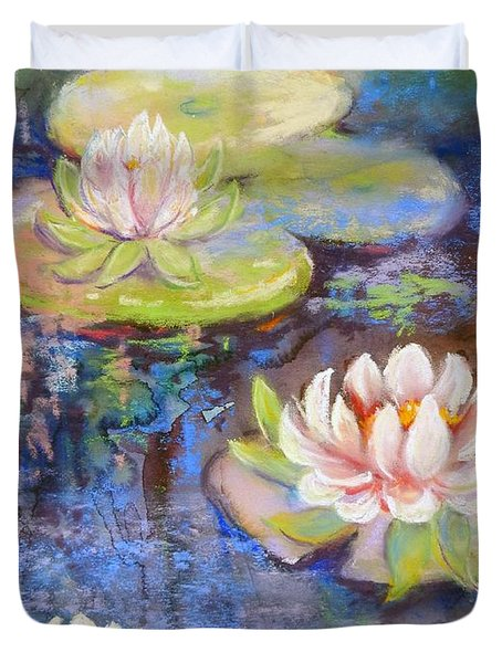 Waterlillies Duvet Cover