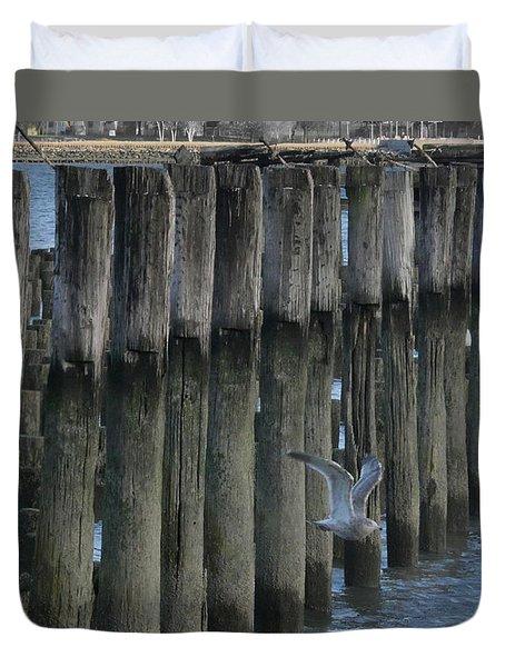 Waterlines Duvet Cover