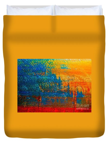 Waterloo Sunset Duvet Cover