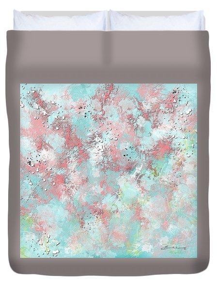 Watermelon Summer Slush Duvet Cover