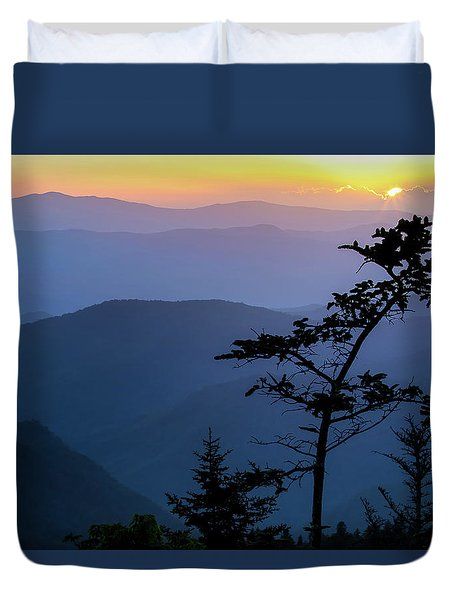 Waterrock Blues Duvet Cover