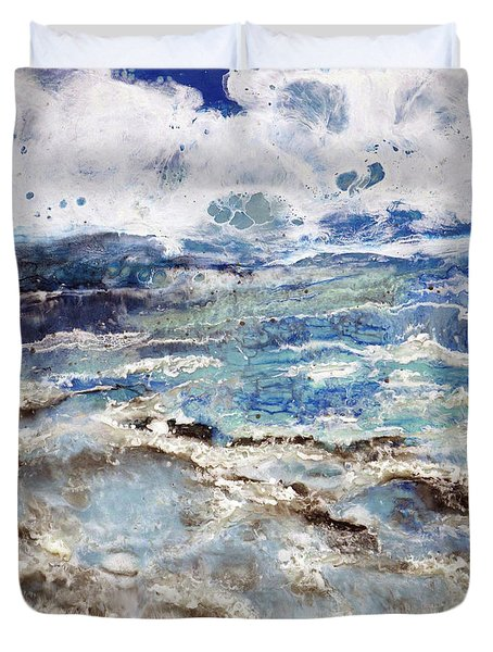 Water's Edge IIi Duvet Cover